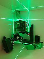 SHARP-50m☀Лазерный 3D нивелир Firecore F93T G +МАГНИТНЫЙ КРОНШТЕЙН ➤МЕГАКОМПЛЕКТ!
