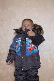 """Комбезик зимний для мальчика """"Тачки"""""""