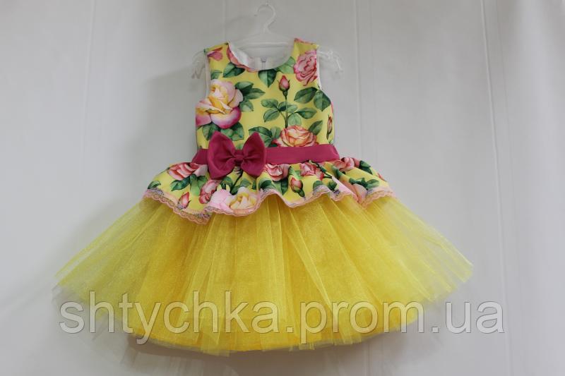 Нарядное платье на девочку № 37