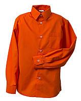 Рубашка Standard длинный рукав темно-оранжевый