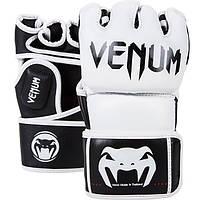Перчатки для MMA Venum Undisputed MMA Gloves Nappa Leather White (EU-VENUM-0122), фото 1
