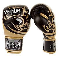 Боксерские перчатки Venum Tribal Boxing Gloves Black/Gold (EU-VENUM-0675)