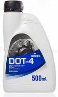 Тормозная жидкость EURO DOT- 4 500мл