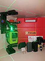 🍁Лазерный 3D нивелир Fukuda MW 93T GJ+  (3*360)🍁 аналог Bosch GLL 3-80CG]+МАГНИТНЫЙ КРОНШТЕЙН, фото 1