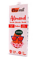 Органическое миндальное растительное молоко без сахара Ecomil 1000 мл