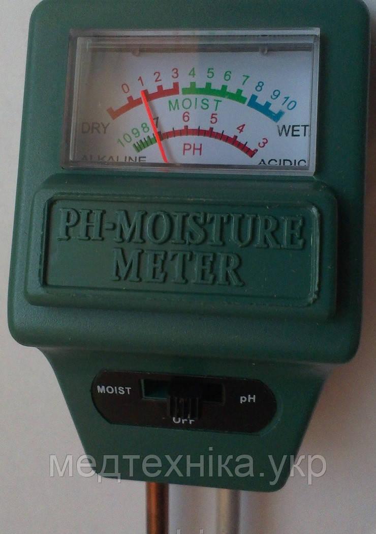 Вимірювач кислотності ( від 3 до 10 рН ) і вологості грунту МР-330