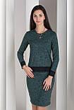 Костюм  женский  теплый юбка кофта ангора софт кружево  42 44 46 48 50 Р, фото 3