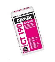 Ceresit СТ 190/25 кг, клей для ваты