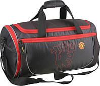 Спортивная сумка  для мальчика 29 л. FC Manchester United Kite MU15-964K черный