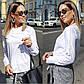 """Женская нарядная блуза 0473 """"Софт Рукава Кружево Мулине"""" в расцветках, фото 5"""