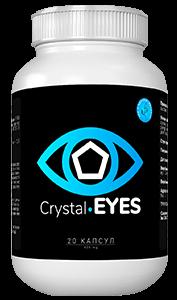 Crystal EYES (Кристал Айс) - Капсули для відновлення зору. Акція 1+1=3