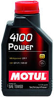 MOTUL POWER 15W50 1L, фото 1