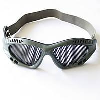 Окуляри-сітка олива, фото 1