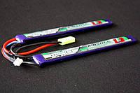 АКБ Turnigy LiPo 7.4v 1300mAh 25~50C нунчаки, фото 1