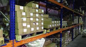 Нестандартное размещение поддонов для более удобной комплектации заказов