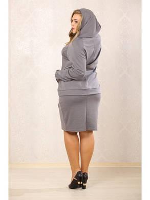 Женский костюм в спортивном стиле батал (р. 48-72) арт. Драйв, фото 2