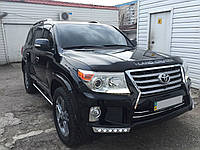 Обвес Toyota Land Cruiser 200 в стиле Lexus