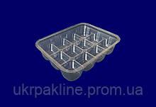 Одноразовая упаковка для мармелада, конфет, рахат лукума арт. IU-25