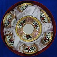 Набор цветных чайных чашек  Китай в подарочной коробке
