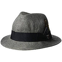Шляпа Stacy Adams Matte Toyo Fedora Grey - Оригинал
