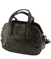 Женская кожаная коричневая сумка TRAUM (7312-10)