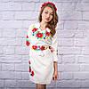 """Платье с вышивкой """"Цветы Украины"""", фото 2"""