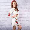 """Платье с вышивкой """"Цветы Украины"""", фото 3"""