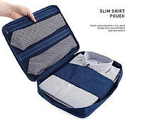 Органайзер для рубашек, блузок и галстуков - дорожный органайзер