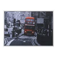 """ИКЕА """"ВИЛЬСГУЛЬТ"""" Картина, Лондонский автобус"""