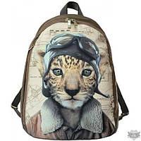 Бежевый рюкзак с принтом EPISODE FRIENDS ЛЬВЕНОК E16S025.29