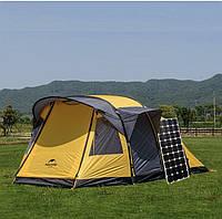 Сонячний комплект електроенергії туристичний 50 Вт