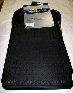 Mercedes SLK 1998-04 R170 R 170 коврики передние резиновые новые оригинал