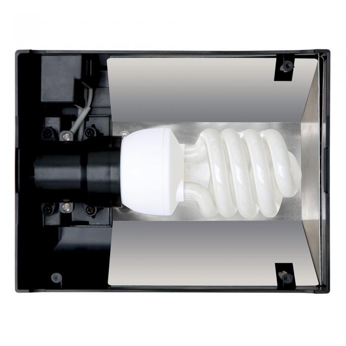 Светильник для террариума Exo Terra Compact Top E27, 20x9x15 см. (PT2224)