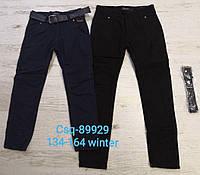 Котоновые брюки на флисе для мальчиков Seagull оптом,134-164 рр. Артикул: CSQ89929, фото 1