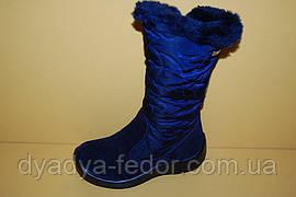 Детская зимняя обувь Kapika Молдавия 43160 Для девочек Синий размеры 27_29