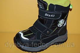 Детская зимняя обувь Термообувь Bi&Ki Китай 2297 Для мальчиков Черный размер 27