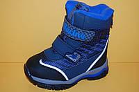 Детская зимняя обувь Термообувь Том.М Китай 3982 Для мальчиков Синий размеры 23_30, фото 1