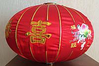 Китайский Фонарь Большой Красный
