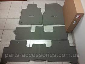 Acura MDX 2007-14 коврики серые велюровые на три ряда новые оригинал