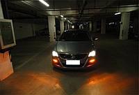 Volkswagen Passat CC LED ходовые диоды туманки огни в бампер 08-13