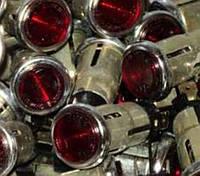 Фонарь контрольной лампы ПД20-Е1 красный