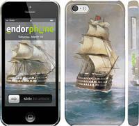 "Чехол на iPhone 5c Айвазовский. Корабли ""160c-23"""