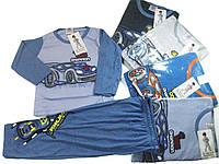 Пижама трикотажная для мальчиков, размеры 98/104,110/116,122/128, 134/140, арт. 002