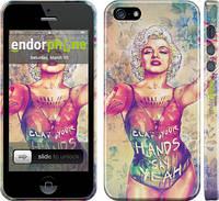 "Чехол на iPhone 5s Swag. Marilyn ""1205c-21"""