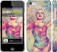 "Чехол на iPhone 5c Swag. Marilyn ""1205c-23"""