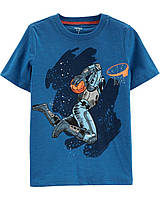 Трикотажная летняя футболка Космонавт Картерс для мальчика