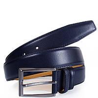 Синий мужской кожаный ремень Y.S.K shi1016-9