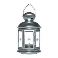 """ИКЕА """"РОТЕРА"""" Фонарь для формовой свечи, оцинковка, 21см"""