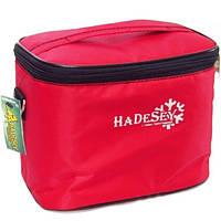 Термосумка 4,5 литра HaDeSey красная