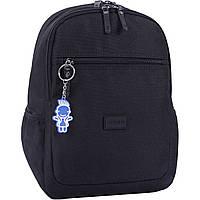 Рюкзак городской Bagland Молодежный  Young 13 л черный детский женский для девочки для мальчика 00510664